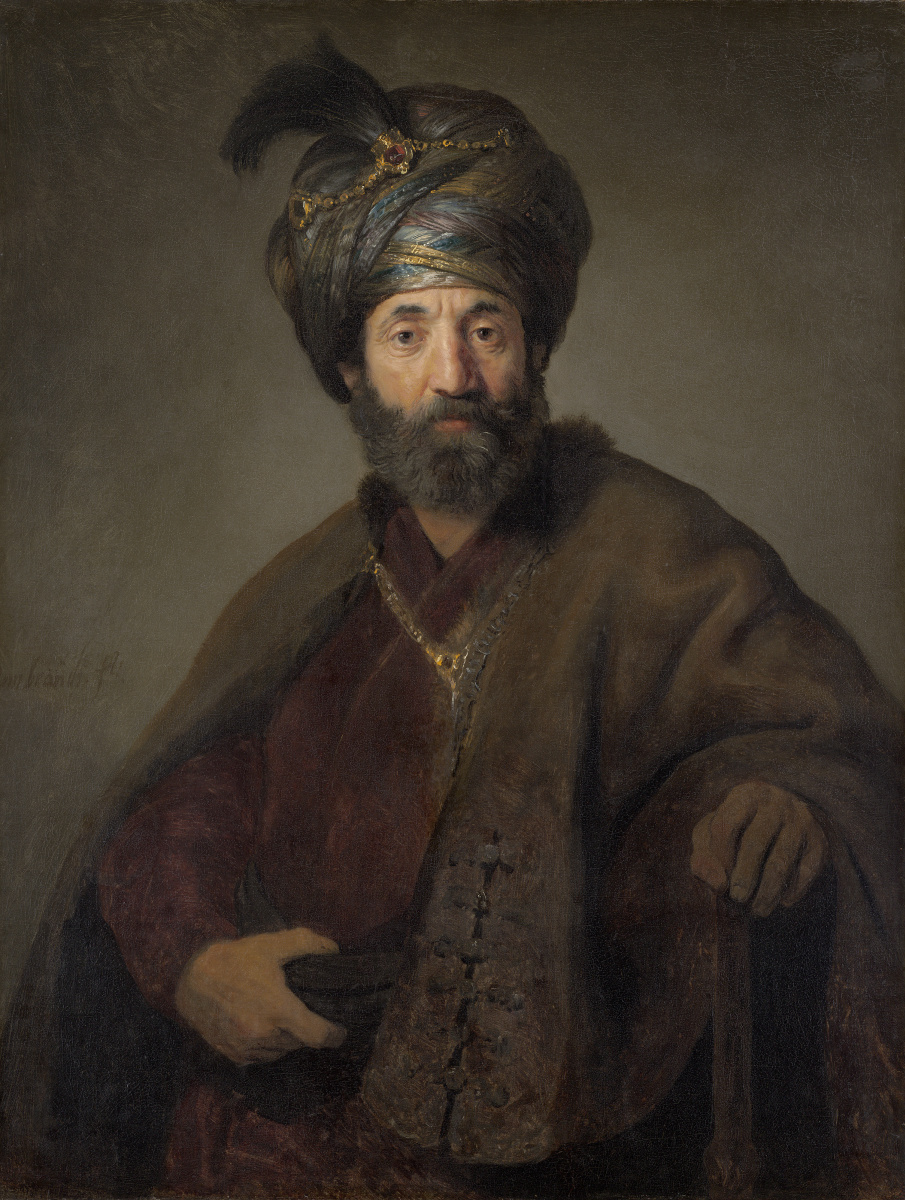 Рембрандт Харменс ван Рейн. Турок (Человек в восточном костюме)