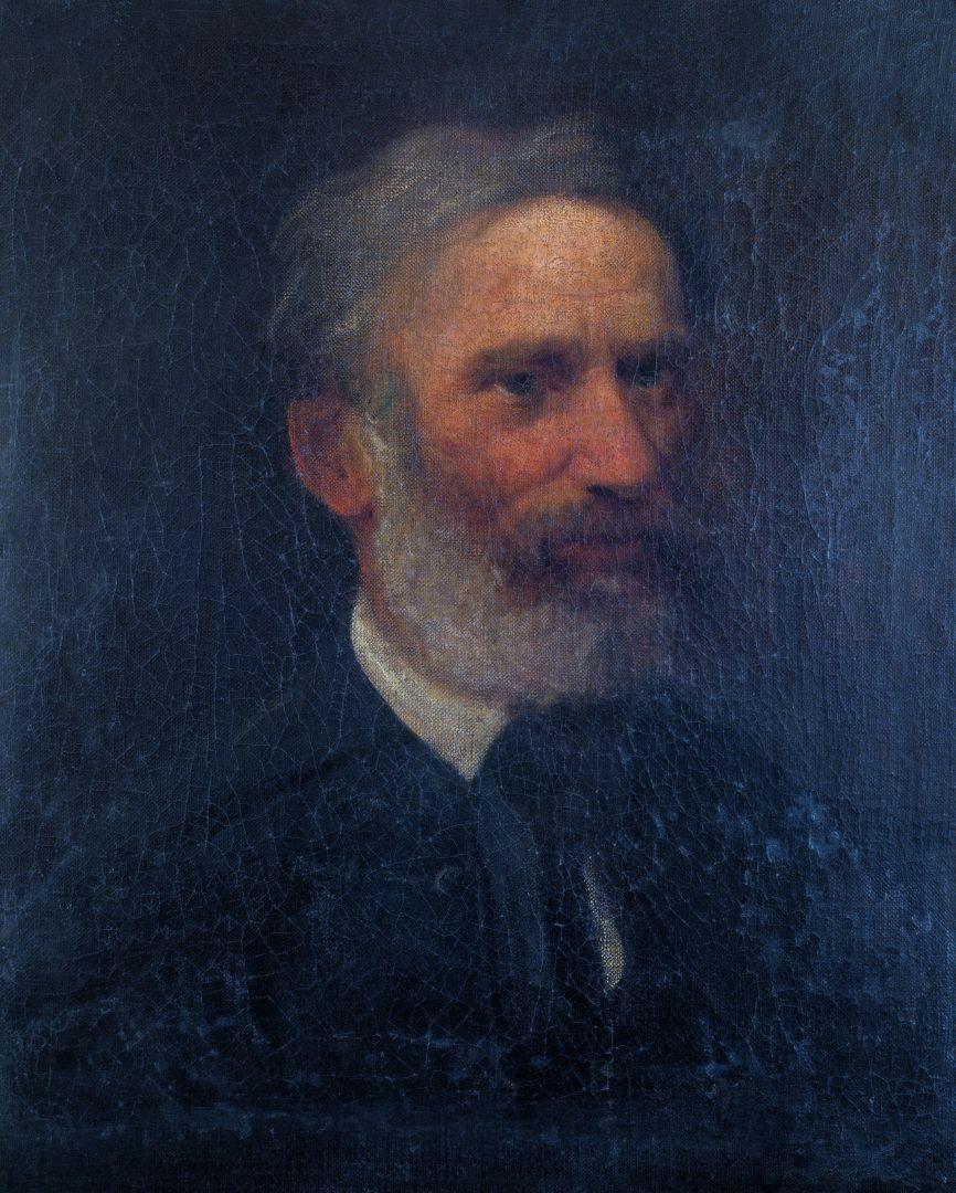 Михай Либ Мункачи. Портрет Яноша Видовски