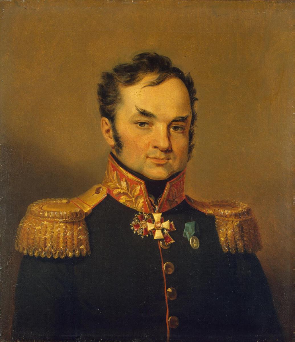 Джордж Доу. Портрет Андрея Саввича Глебова