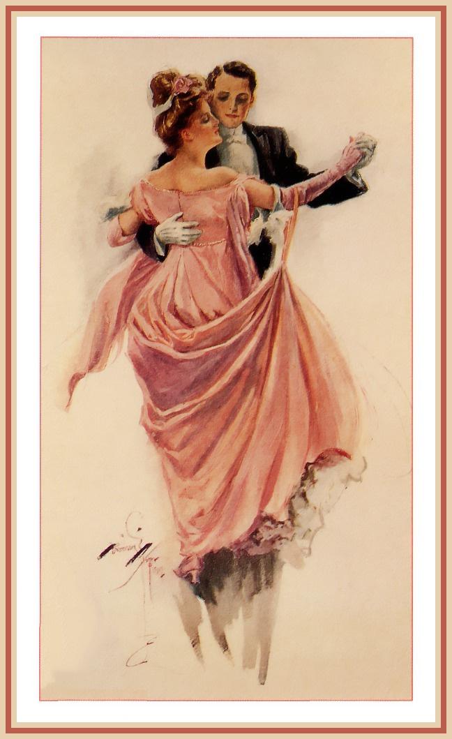 Harrison Fisher. Dance