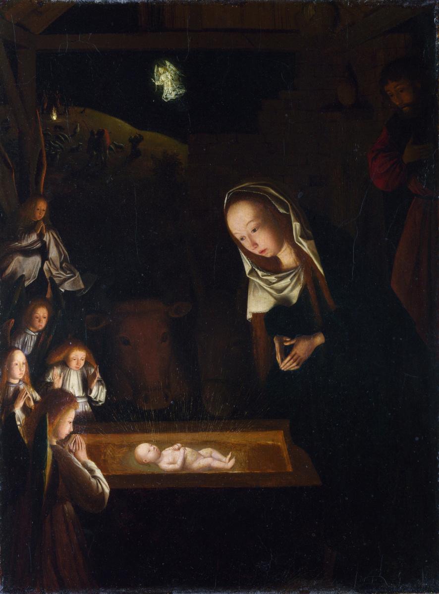 Янс малыш Синт Геертген. Рождество в ночное время
