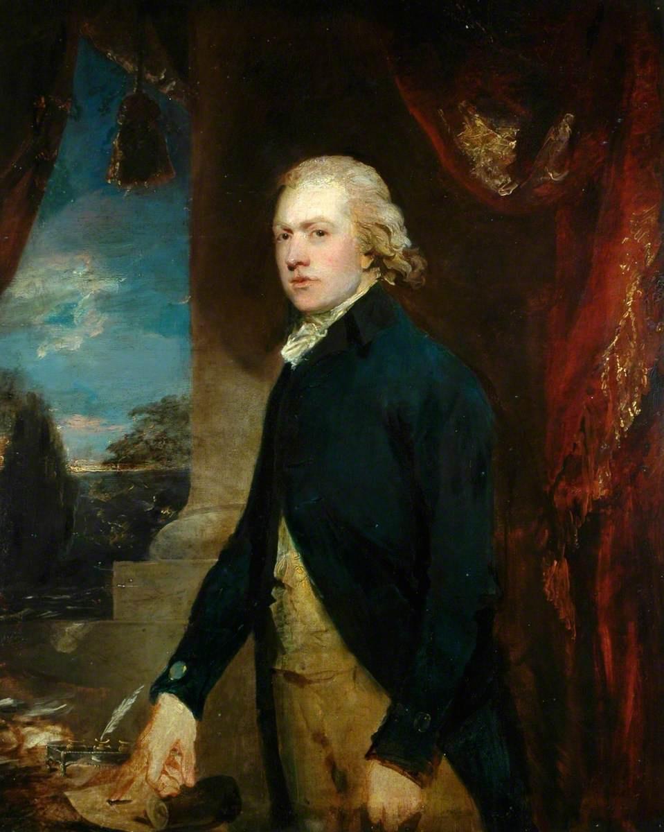 Томас Гейнсборо. Портрет мужчины (возможно Иоганна Кристиана Баха)
