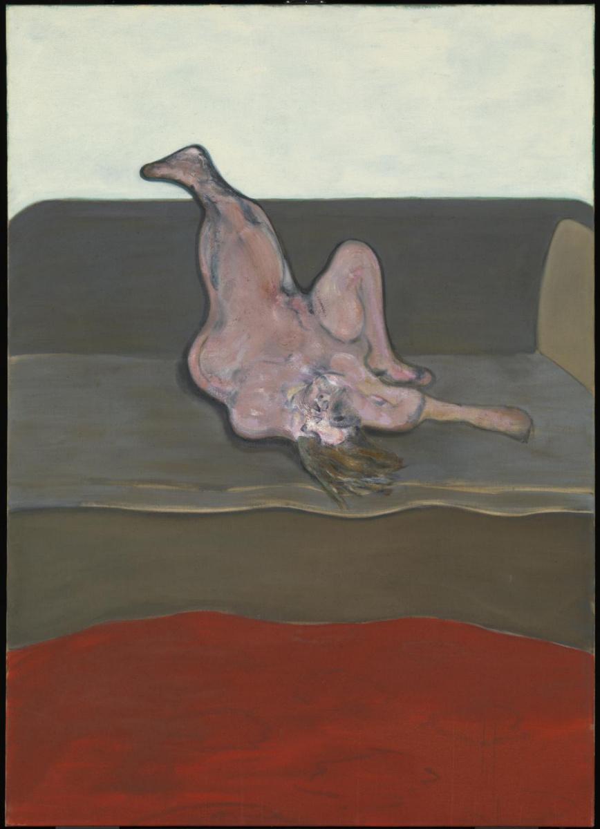 Фрэнсис Бэкон. Лежащая женщина