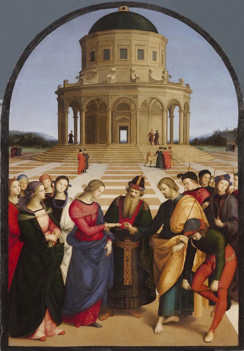 Рафаэль Санти. Обручение Девы Марии
