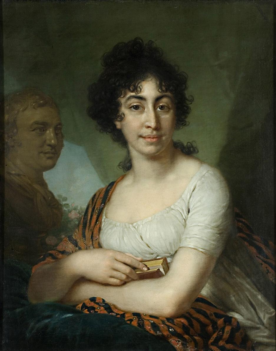 Vladimir Borovikovsky. Portrait Of V. Manucharova (Varvara Ivanovna Arbatova?)