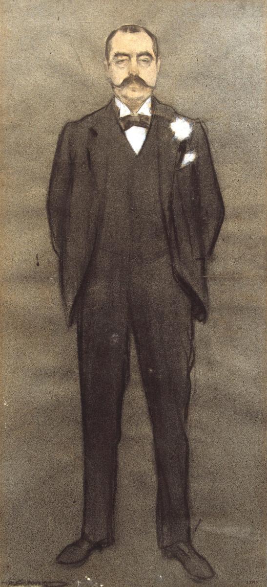Рамон Касас Карбо. Портрет Альберта Берниса