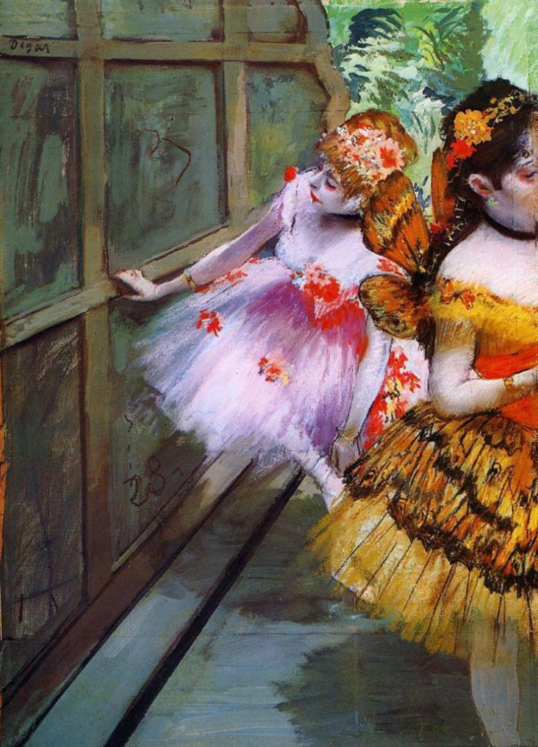 Эдгар Дега. Балерины в костюмах бабочек (Танцовщицы с крыльями)