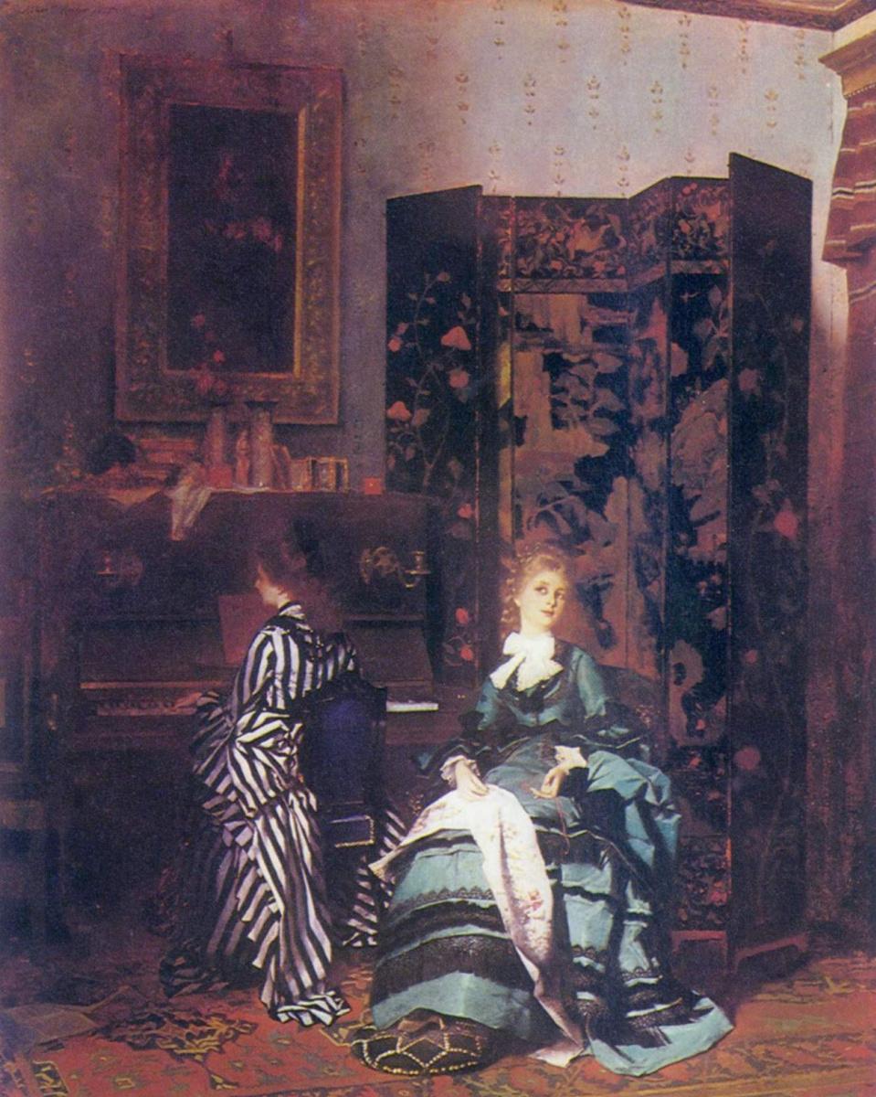 Albert von Keller. Chopin