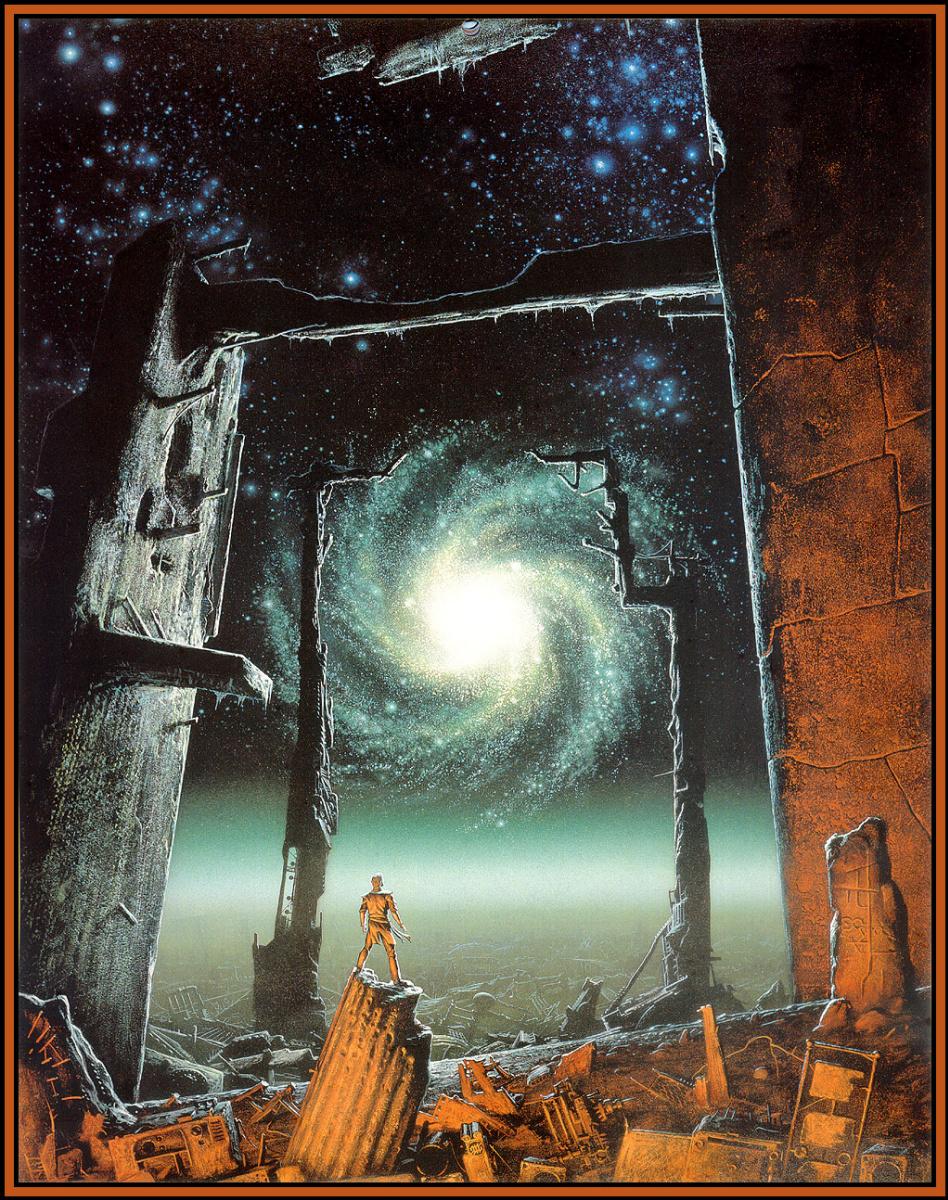 Майкл Уилан. Космическое пространство