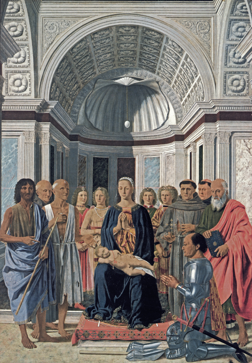 Пьеро делла Франческа. Молящаяся Богородица