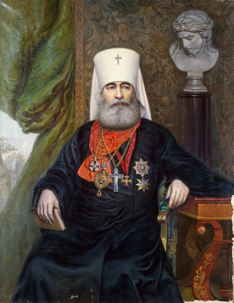 Андрей Андреевич Карелин. Портрет митрополита Антония