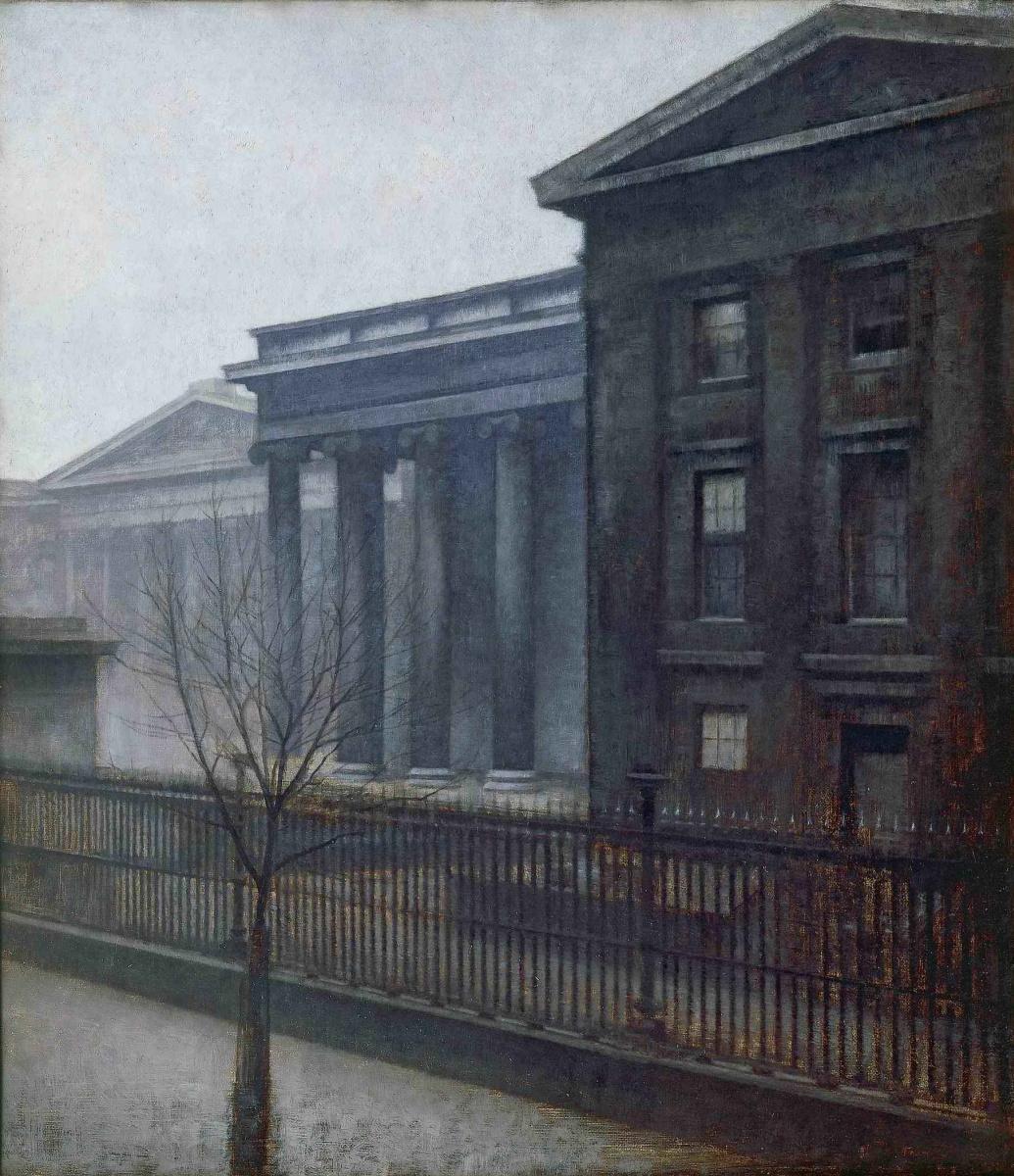 Вильгельм Хаммерсхёй. Британский музей зимой