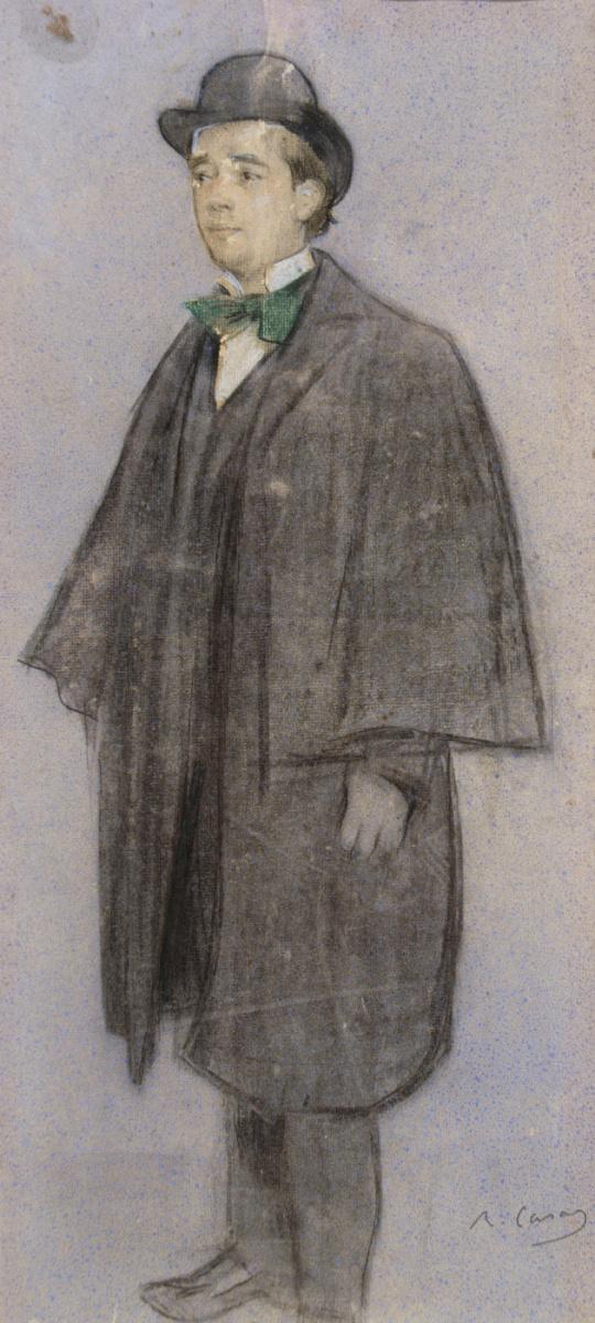 Рамон Касас Карбо. Портрет Адриа Гуаля