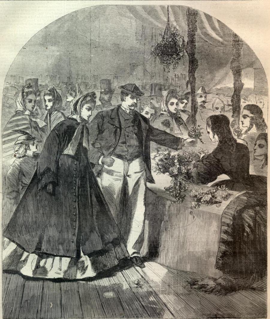 Уинслоу Хомер. Нью-йоркская ярмарка, 1864
