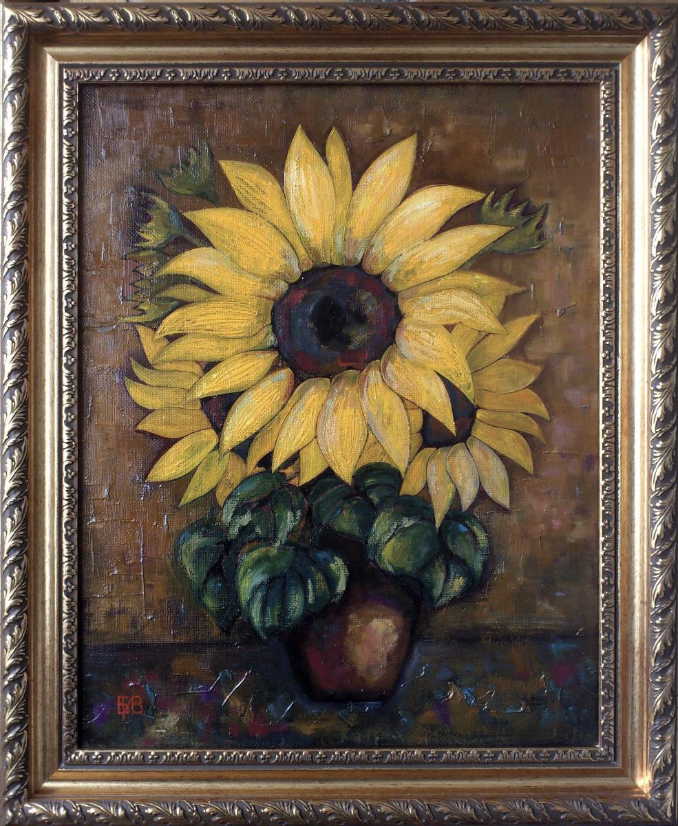 Igor Veniaminovich Bondarenko. Sunflowers