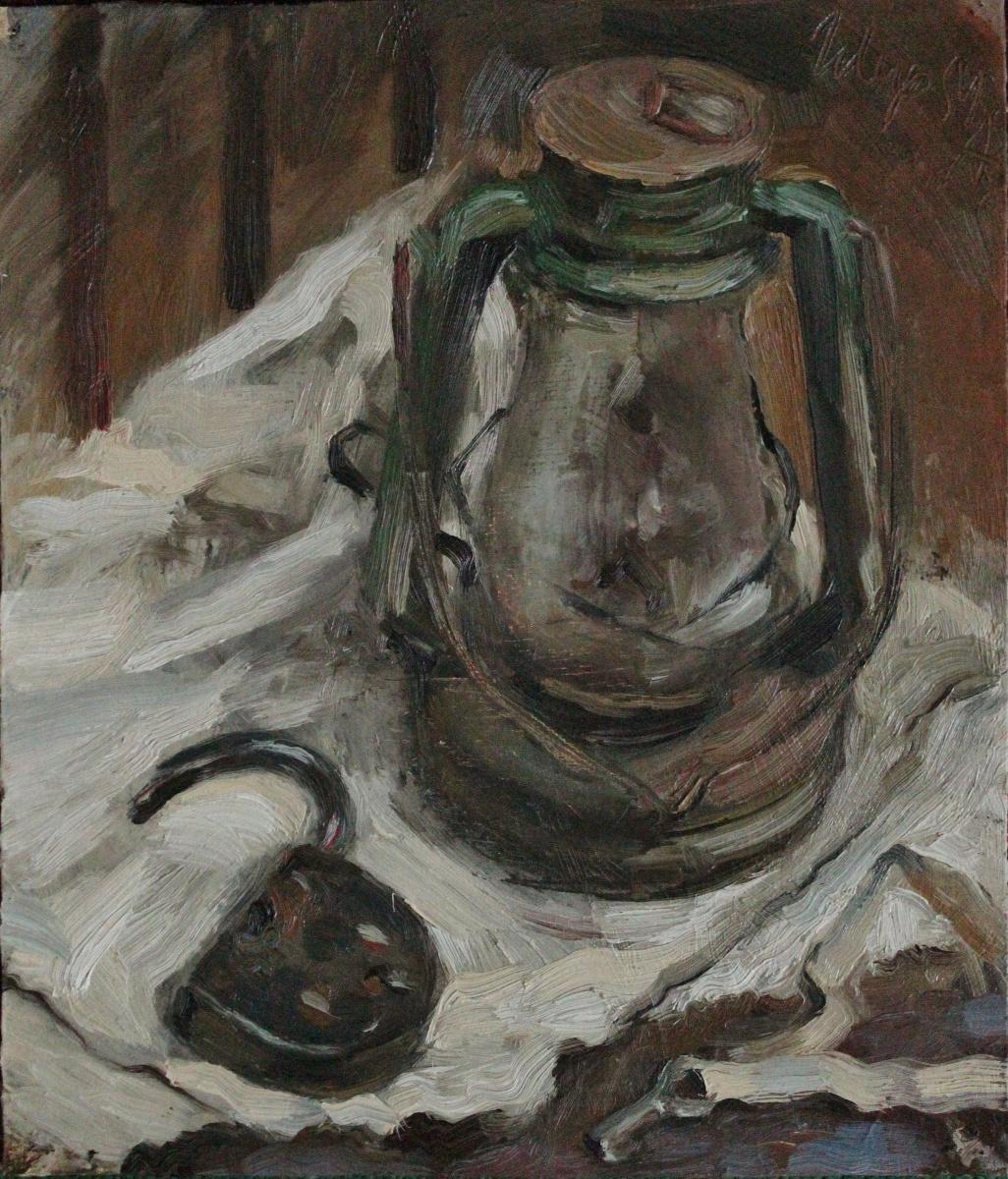 Maria Alekseevna Shiryaeva. Kerosene stove