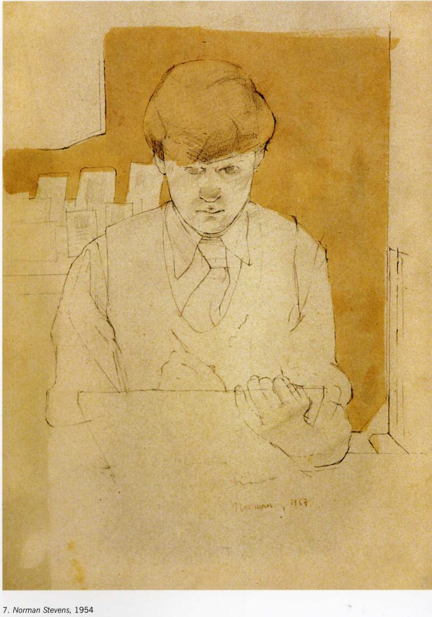 Дэвид Хокни. Портрет 28