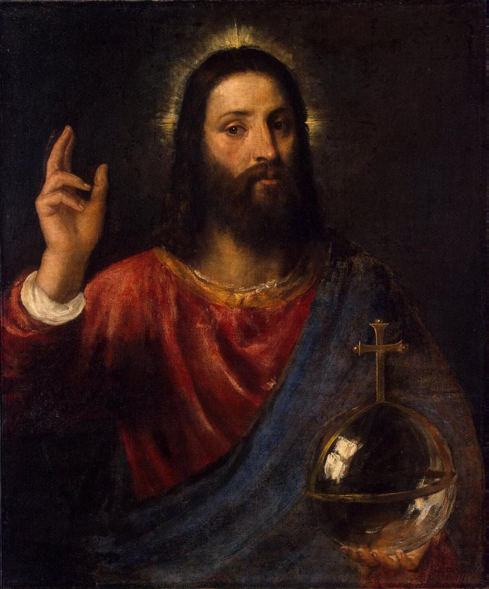 Тициан Вечеллио. Христос-Вседержитель