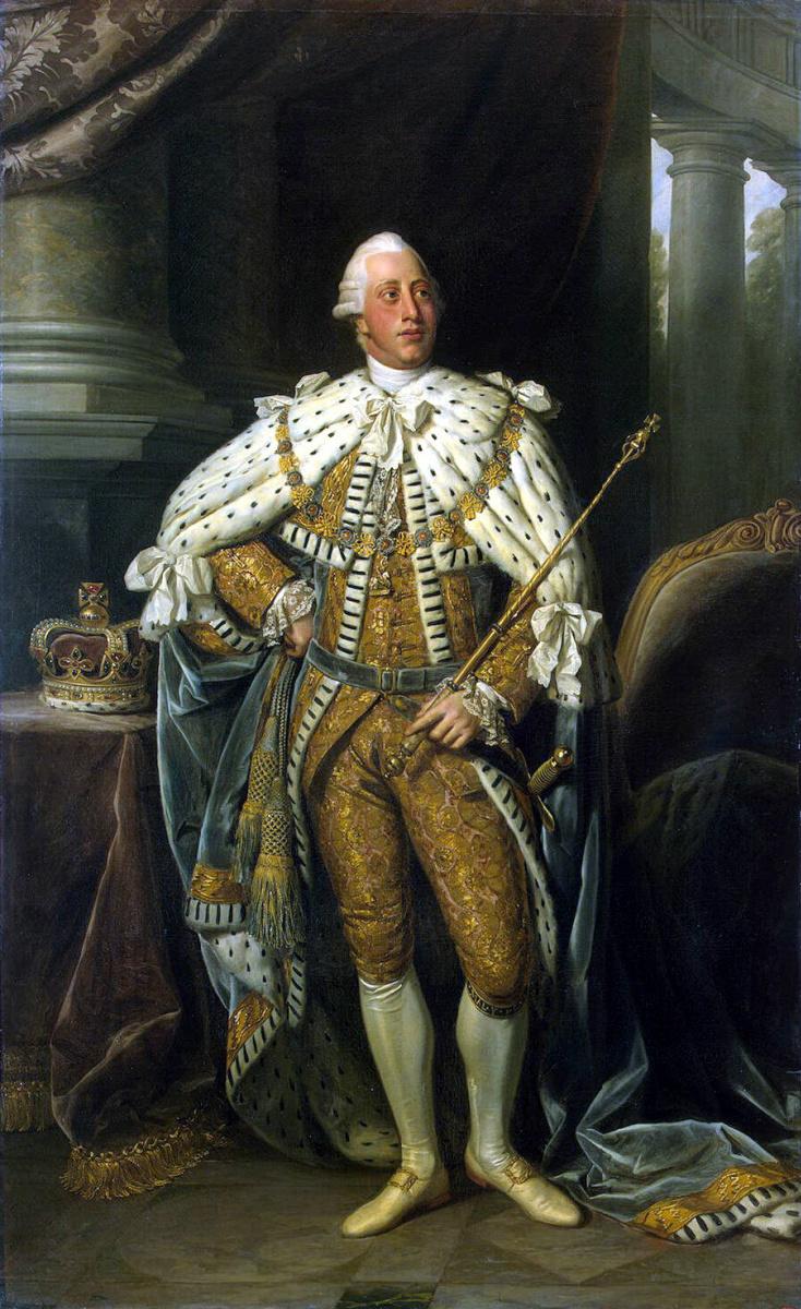 Натаниел Данс. Портрет Георга III