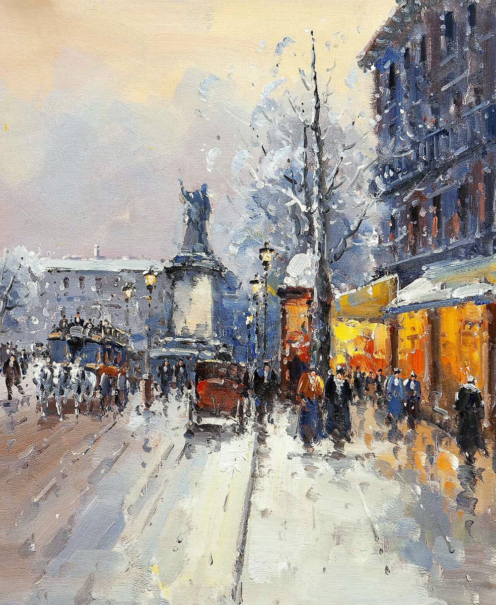 Andrey Sharabarin. Dreams of Paris N3 (based on the pictures of Blanchard and Cortez)