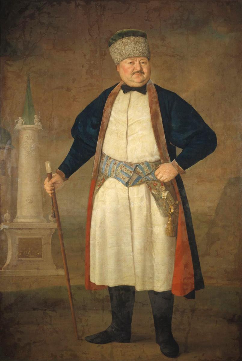 Владимир Лукич Боровиковский. Портрет Руденко.