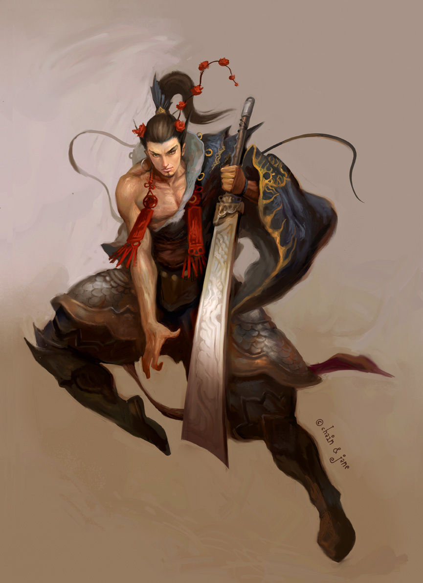 Джинсонг Чен. Сила и ловкость