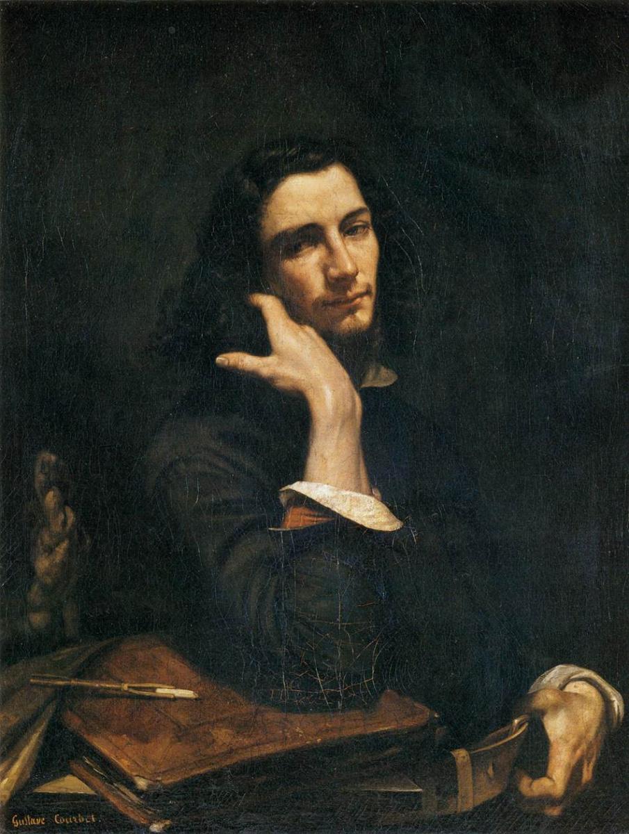 Гюстав Курбе. Автопортрет (Мужчина с кожаным поясом)