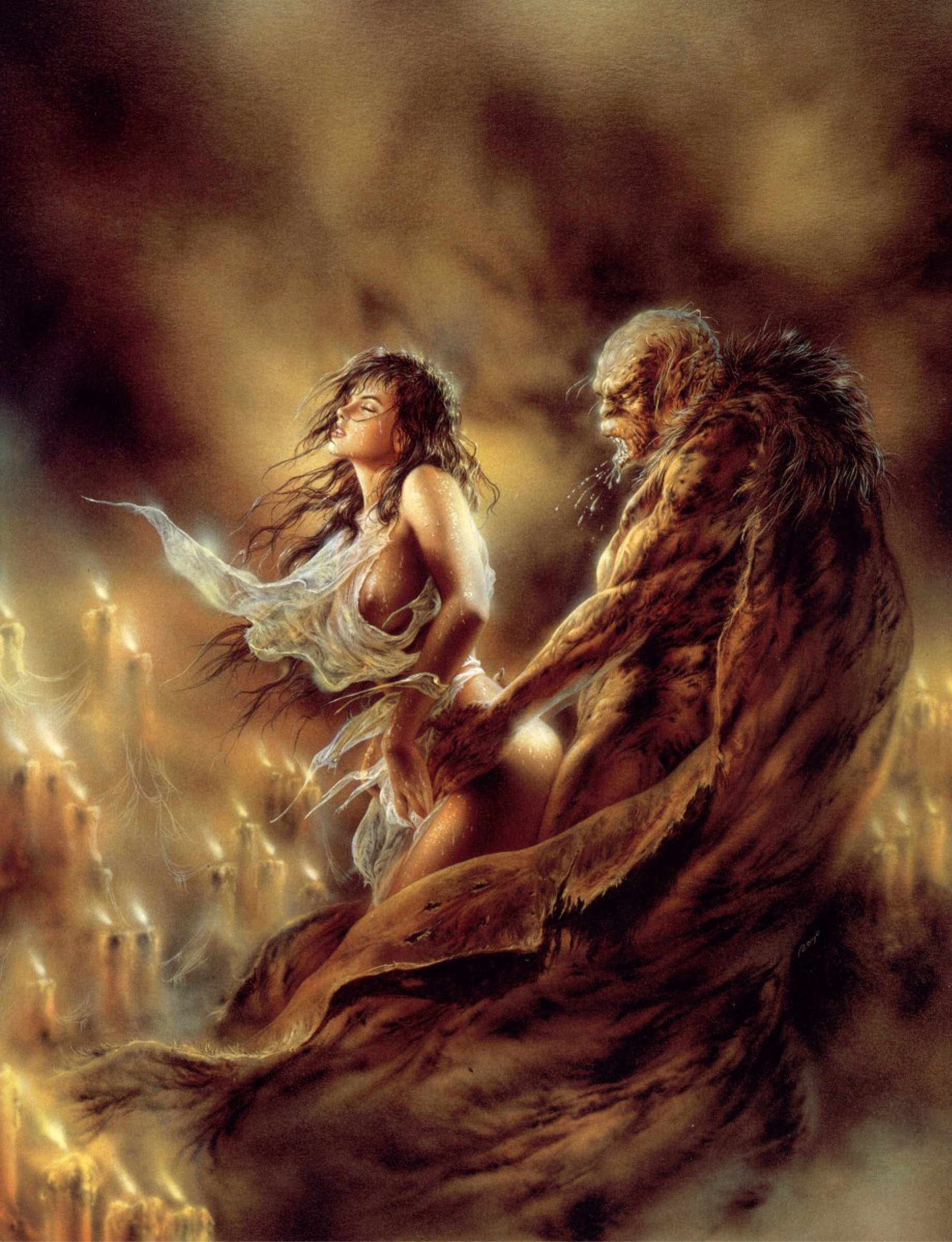 Secret sign by Luis Royo: History, Analysis & Facts