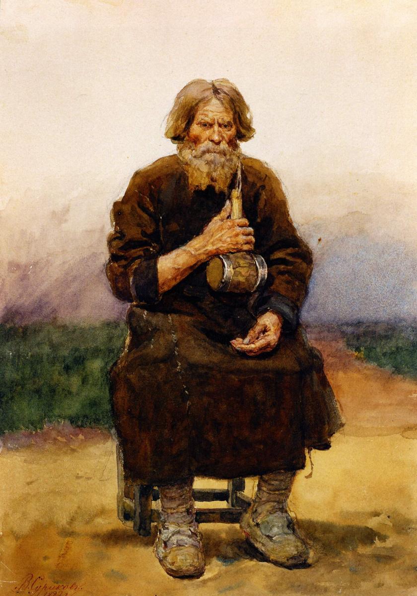 Vasily Ivanovich Surikov. The caulker