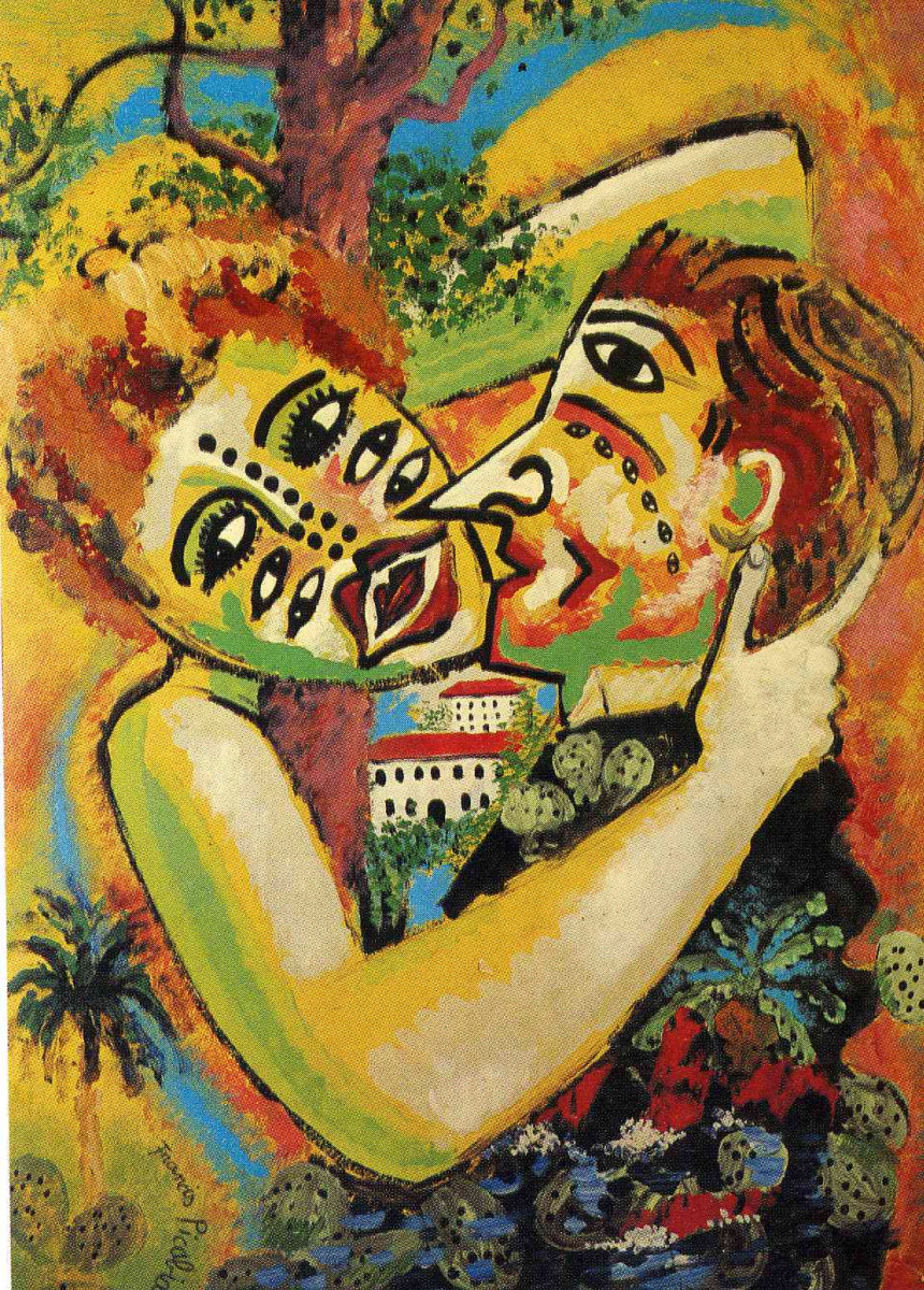 Франсис Пикабиа. Объятия любящих