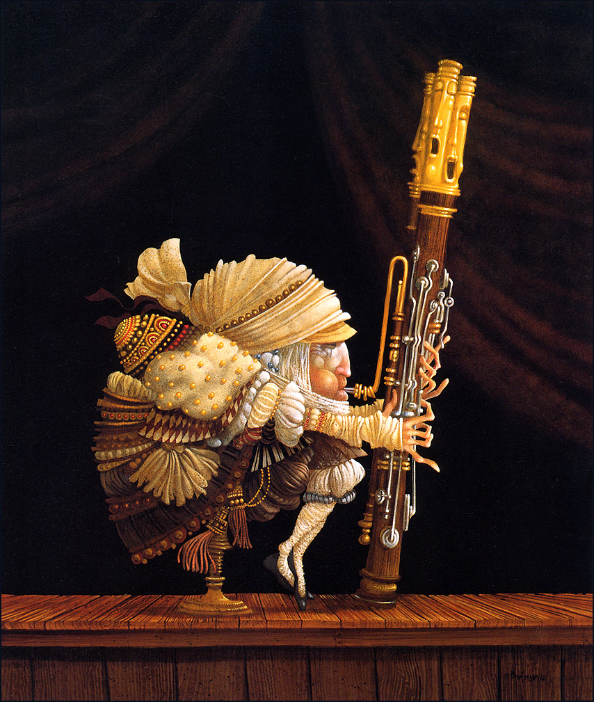 James Christensen. The bassoonist