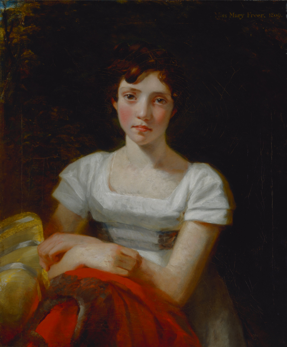 John Constable. Portrait of mary freer