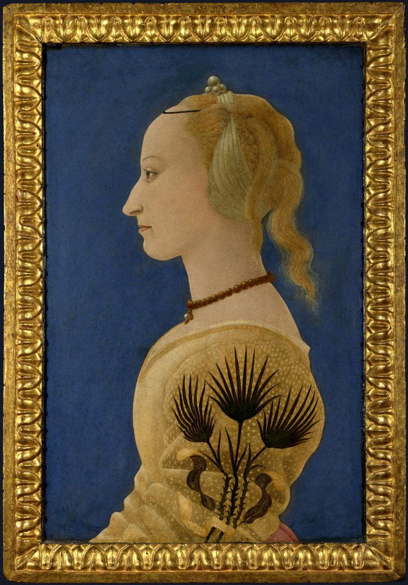 Алессио Бальдовинетти. Портрет леди