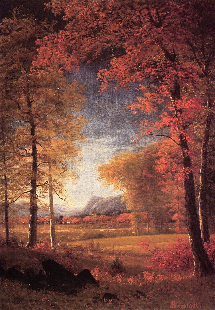 Альберт Бирштадт. Осень в Америке