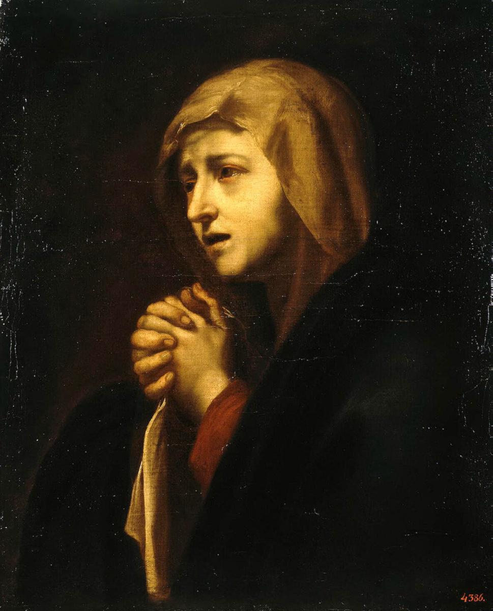 Хосе де Рибера. Скорбящая Богоматерь