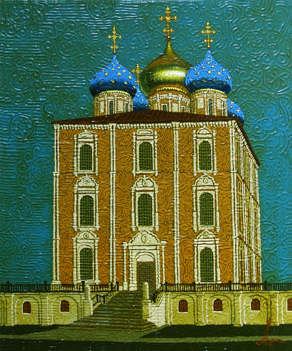 Алексей Петрович Акиндинов. Assumption Cathedral of the Ryazan Kremlin