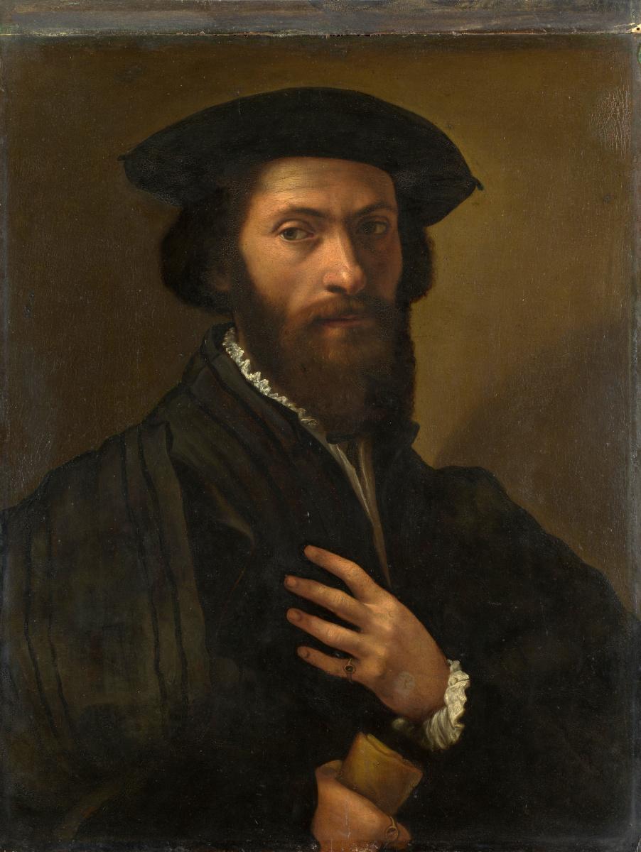 Флорентийский Итальянский. Бородатый мужчина