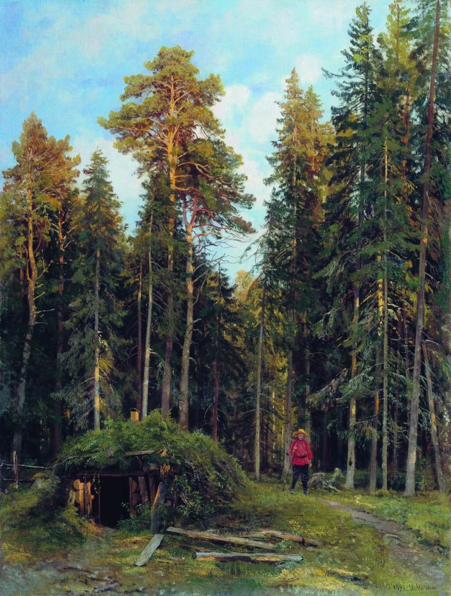 Иван Иванович Шишкин. Вечер