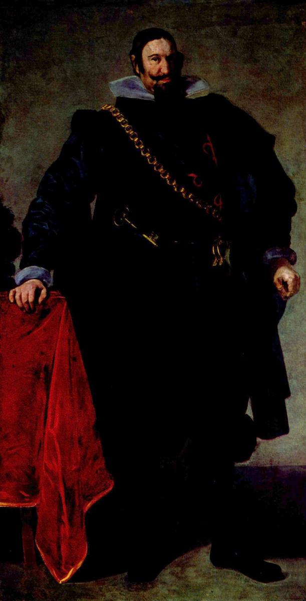 Диего Веласкес. Портрет графа-герцога де Оливареса
