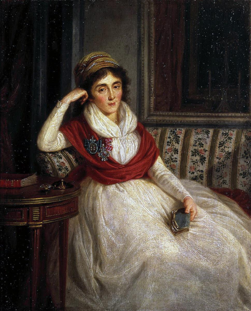 Людвиг Гуттенбрунн. Портрет княгини Голенищевой-Кутузовой