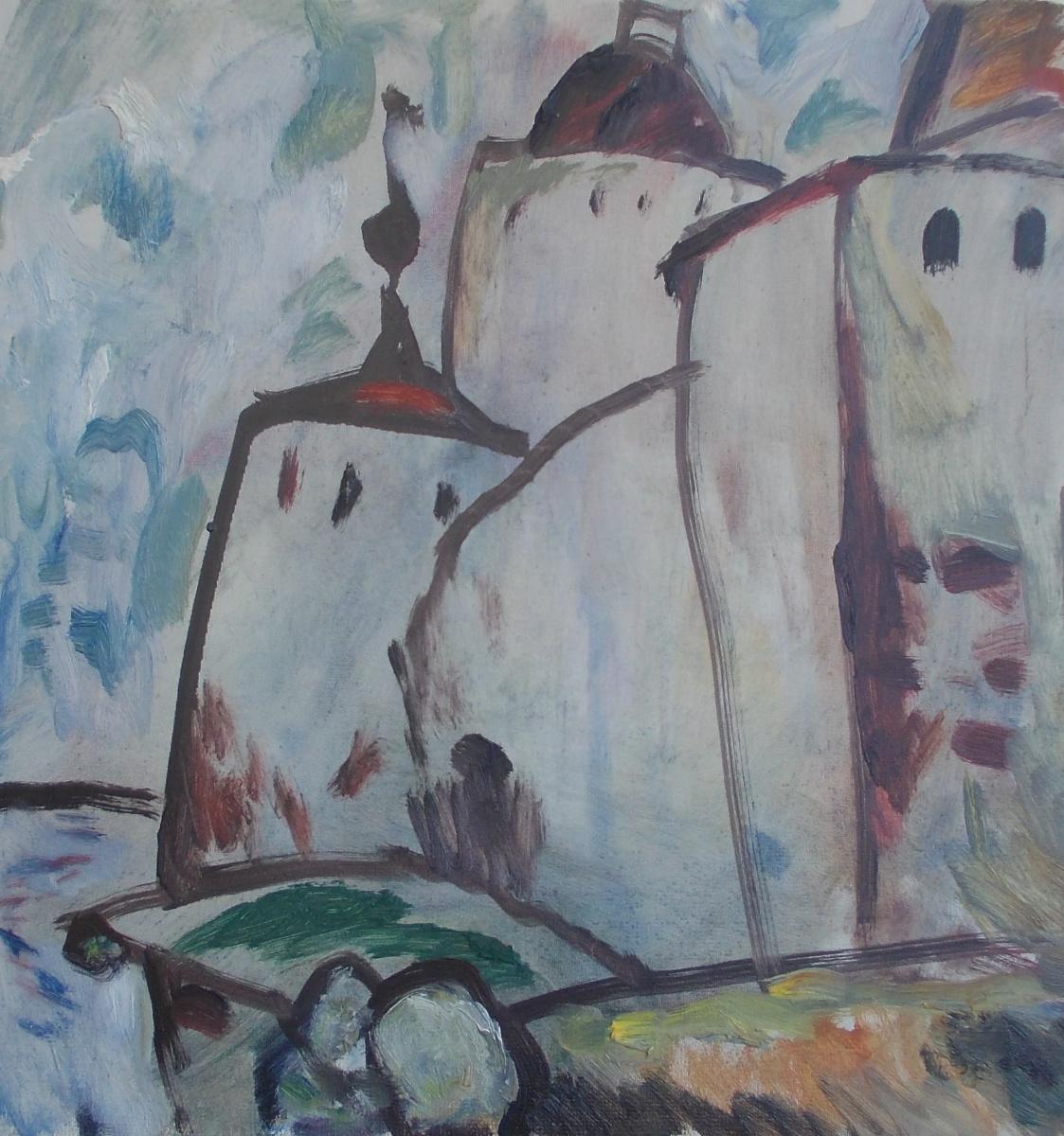 Nina Vasilievna Sedova. Kirilovsky Monastery