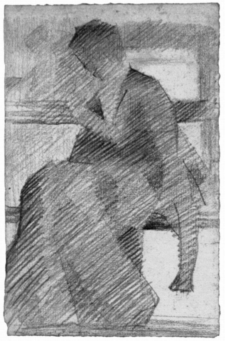 Жорж Сёра. Женщина на скамье