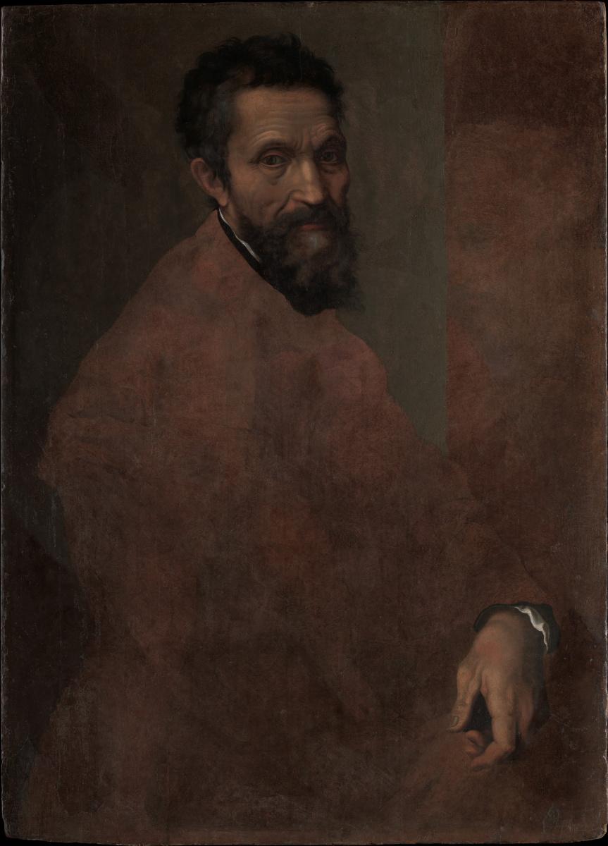 Даниэле да Вольтерра. Портрет Микеланджело Буонарроти