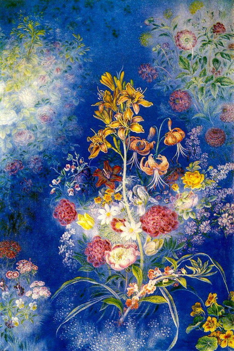 Kateryna Vasylivna Bilokur. A bouquet of flowers