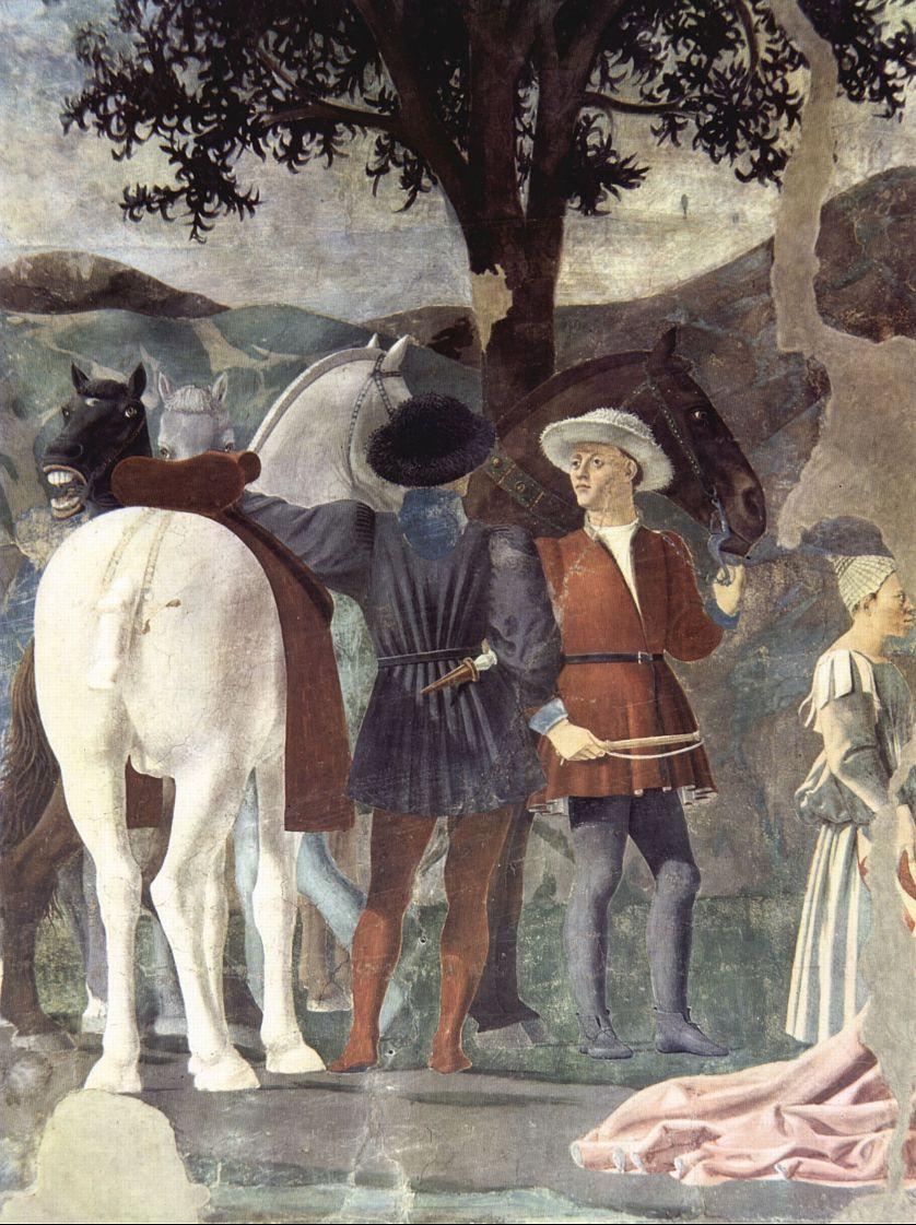 Пьеро делла Франческа. Свита царицы