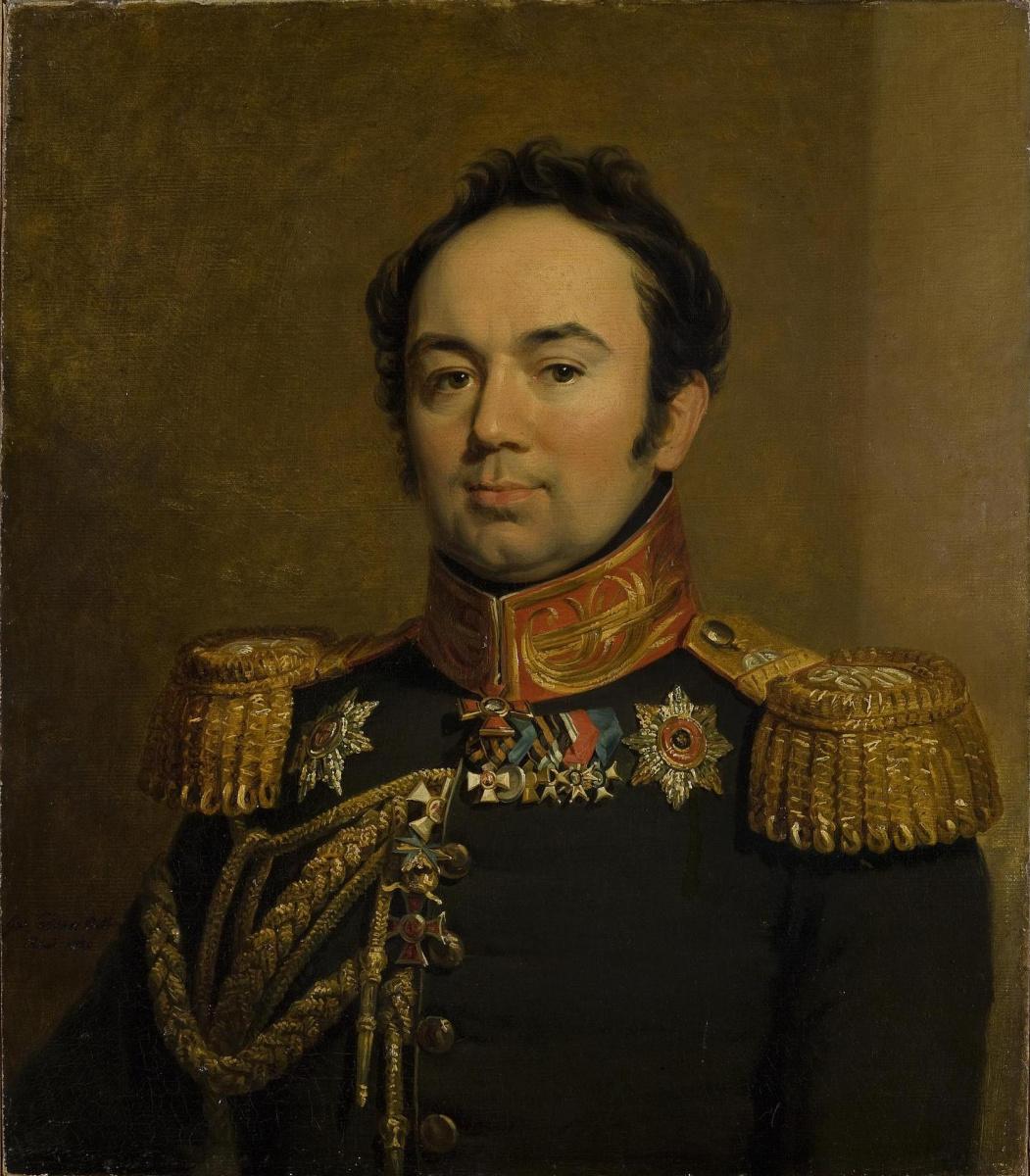 George Dow. Portrait of Arseny Andreyevich Zakrevsky