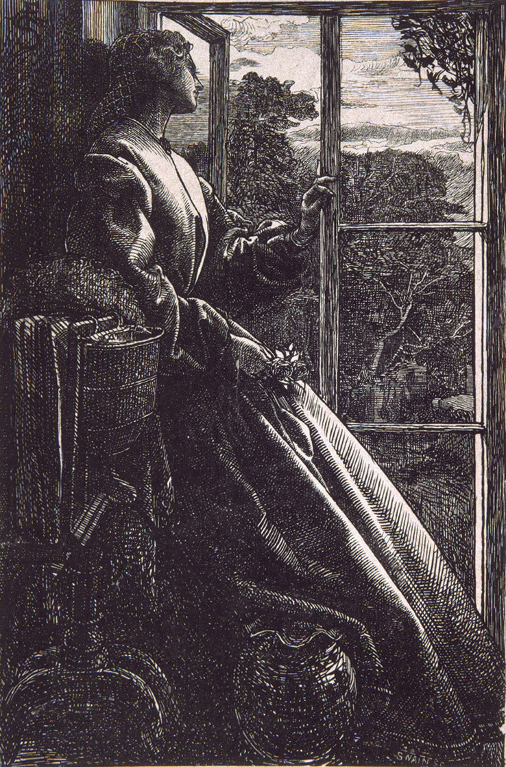 Энтони Фредерик Огастас Сэндис. Перед моим окном
