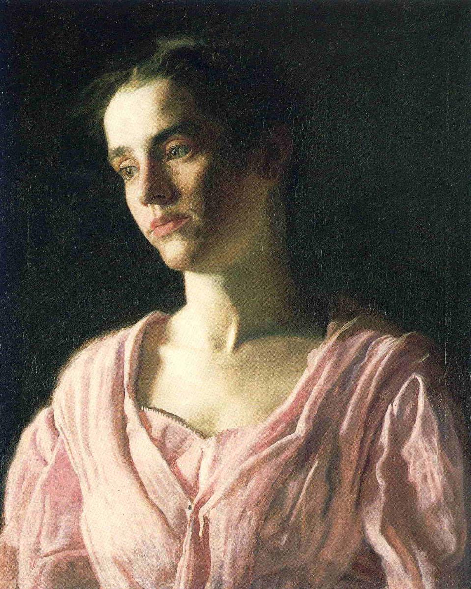 Эндрю Уайет. Девушка в розовом