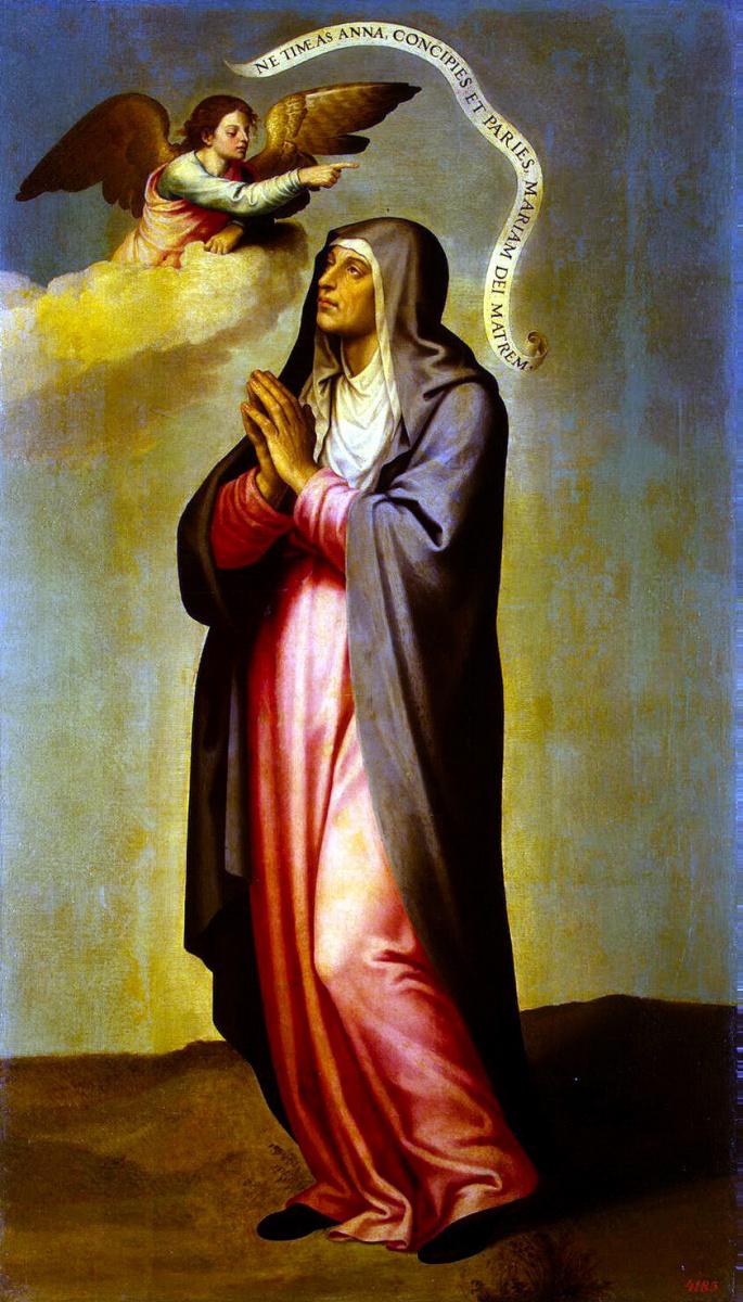 Хоан де Хоанес. Благовестие Святой Анне