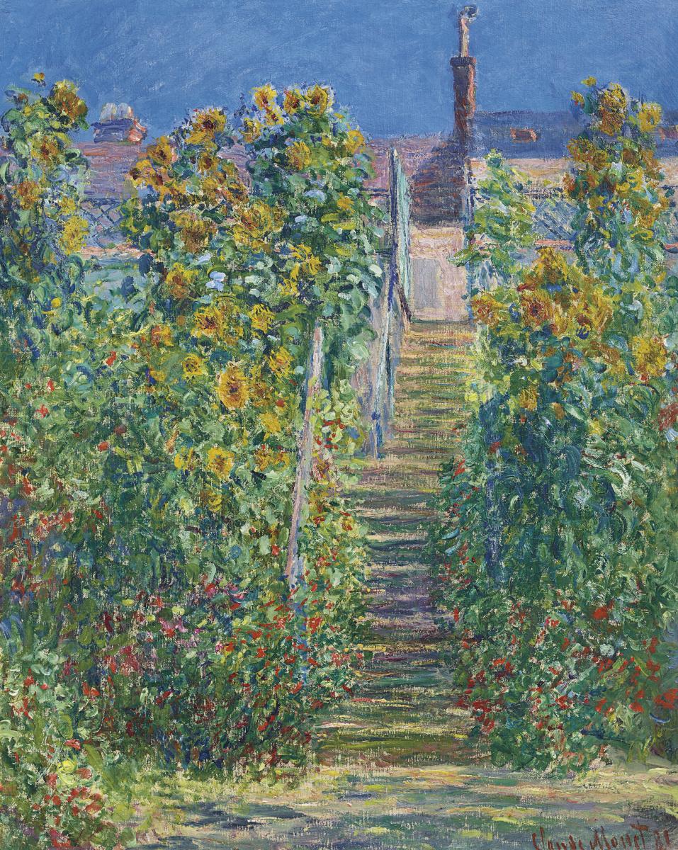 Claude Monet. L'Escalier à Vétheuil